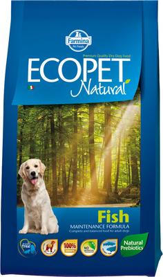 FARMINA ВИА Сухой корм для собак всех пород Ecopet Natural рыба 4488, 2,500 кг