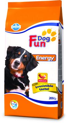 FARMINA ВИА Сухой корм для энергичных собак Fun dog  со вкусом курицы 4508, 20,000 кг