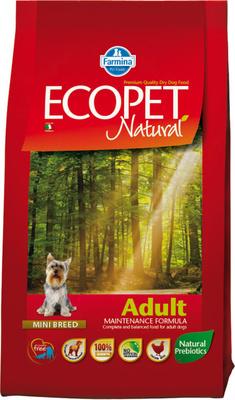 FARMINA ВИА Сухой корм для собак мелких пород Ecopet Natural курица 5227, 12,000 кг