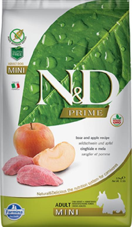 FARMINA ВИА Сухой беззерновой корм для собак мелких пород PRIME LINE кабан с яблоком 11214, 7,000 кг