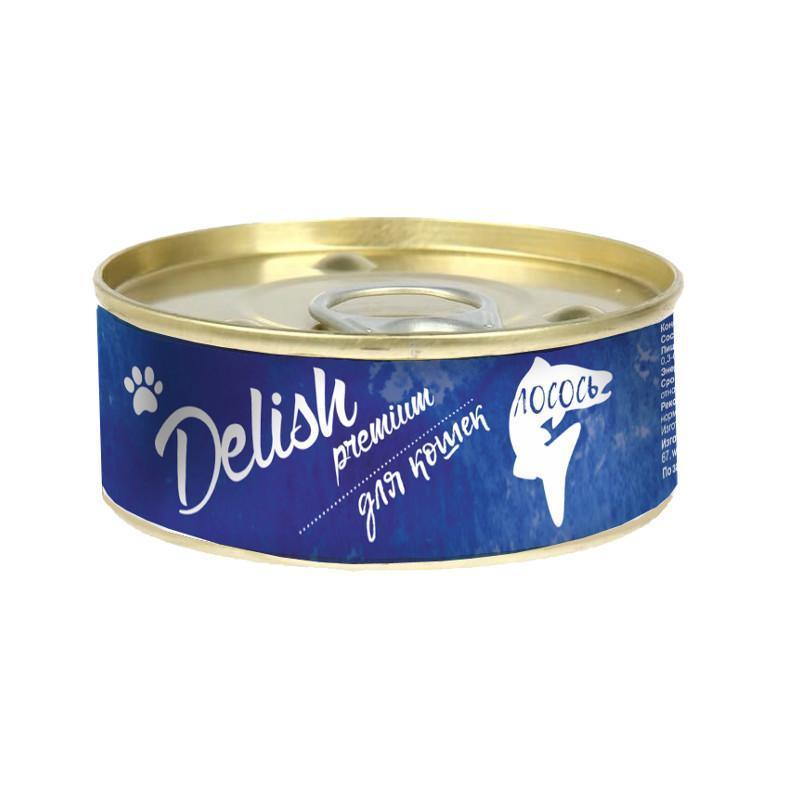 Delish premium дк конс.100 гр лосось 5559