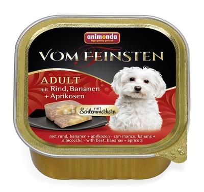 Animonda Консервы  Меню для гурманов  с говядиной, бананом и абрикосами для собак (Vom Feinsten Adult) 001/82666, 0,150 кг