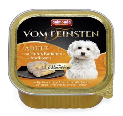 Animonda Консервы Меню для гурманов с курицей, бананом и абрикосами для собак (Vom Feinsten Adult) 001/82645, 0,150 кг