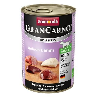 Animonda ВИА Консервы  для чувствительных собак GranCarno Sensitiv c ягненком , 0,200 кг