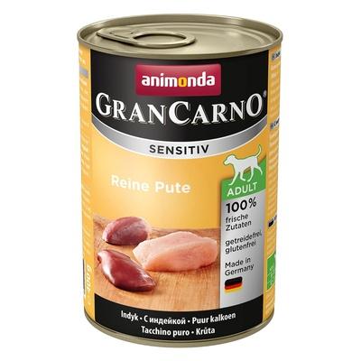 Animonda ВИА Консервы для собак Gran Carno с индейкой (Sensitiv) 001/82414, 0,400 кг