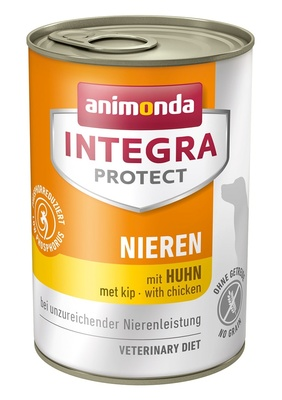 Animonda Консервы Integra для взрослых собак при почечной недостаточности с курицей (Renal) 001/86402, 0,400 кг