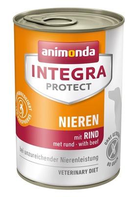 Animonda Консервы Integra для взрослых собак при почечной недостаточности с говядиной (Renal) 001/86404, 0,400 кг