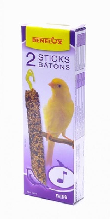 Benelux корма ВИА Лакомые палочки для канареек Трель (Seedsticks canary Swing x 2 pcs) 16215, 0,110 кг, 50848