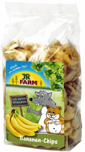 JR FARM 01650 Лакомство д/грызунов кусочки Банана 150г, 36515, 1100100853