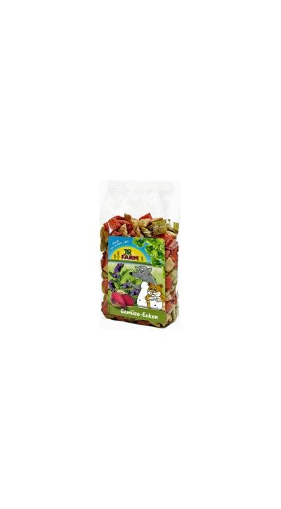 Jr Farm Подушечки из овощей лакомство для грызунов 100 гр, 4500100853