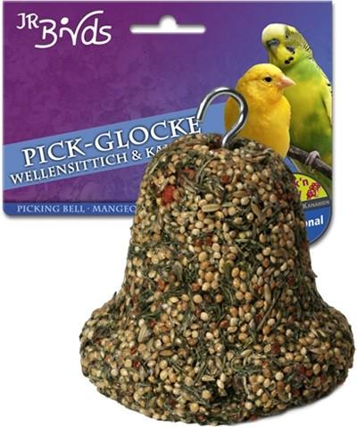 JR Farm колокольчик для клевания для волнистых попугаев и канареек 175 гр