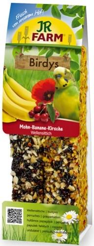 JR FARM 08461 Палочки д/волнистых попугаев с Маком и Бананом 2шт, 25556
