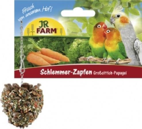 JR FARM 07037 Лакомая шишка для собак редних и больших попугаев 1шт
