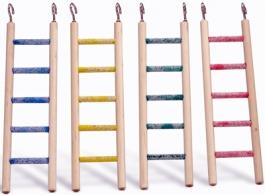 Beeztees 005106 Лестница деревянная с образивными перекладинами 5 шагов 30*8см, 40908