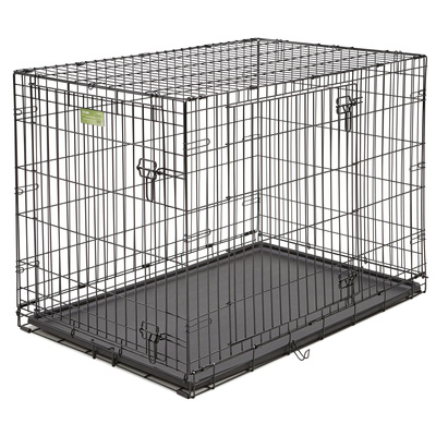 MidWest Клетка,2 двери черная iCrate 107х71х76h см, 16,700 кг