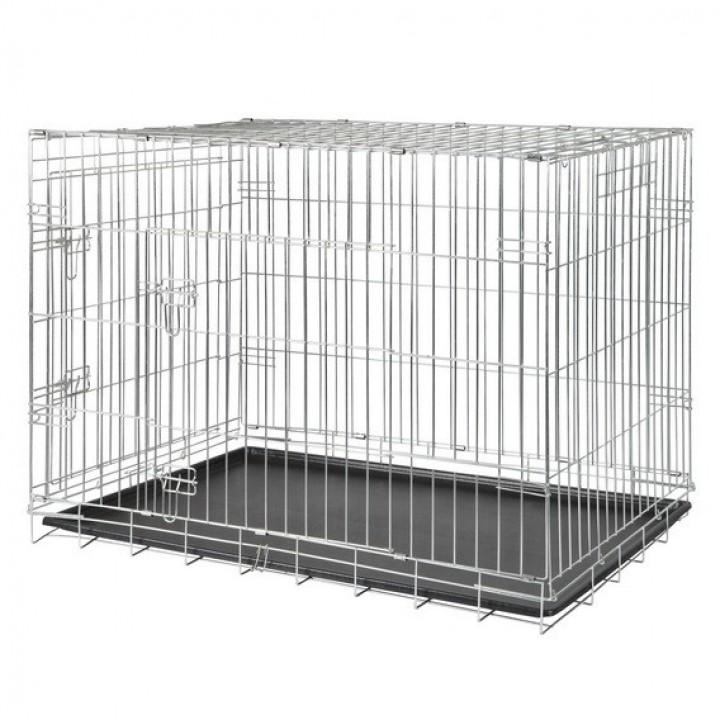 3926 Транспортная клетка с 2 дверями 115 х 75 х 85 см