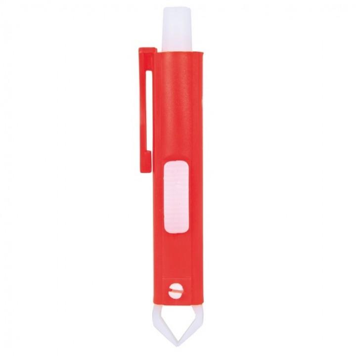 2381 Приспособление для удаления клещей, пластик, 9 см