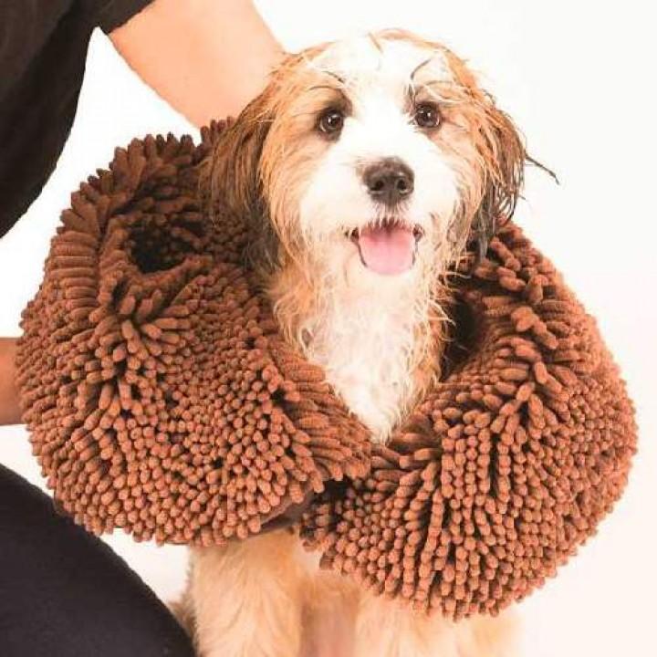 ДоГГон СМАРТ полотенце для собак SHAMMY, 33*79 см, коричневое (106376)