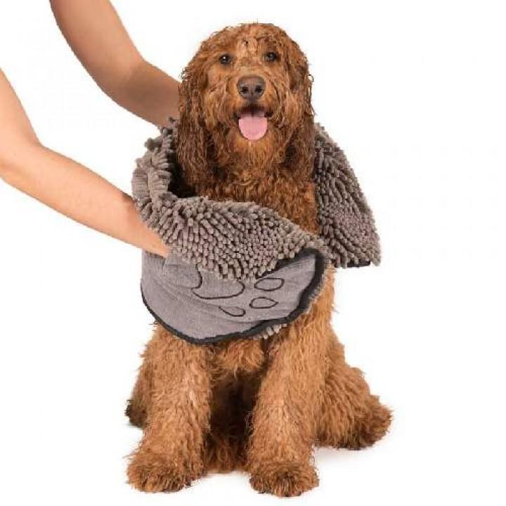 ДоГГон СМАРТ полотенце для собак SHAMMY, 33*79 см, серое (106369)