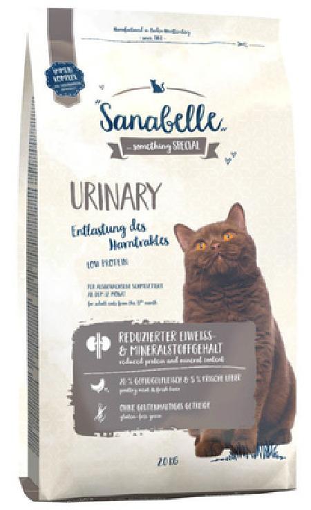 Sanabelle Urinary корм для кошек для профилактики мочекаменной болезни с птицей 400 гр