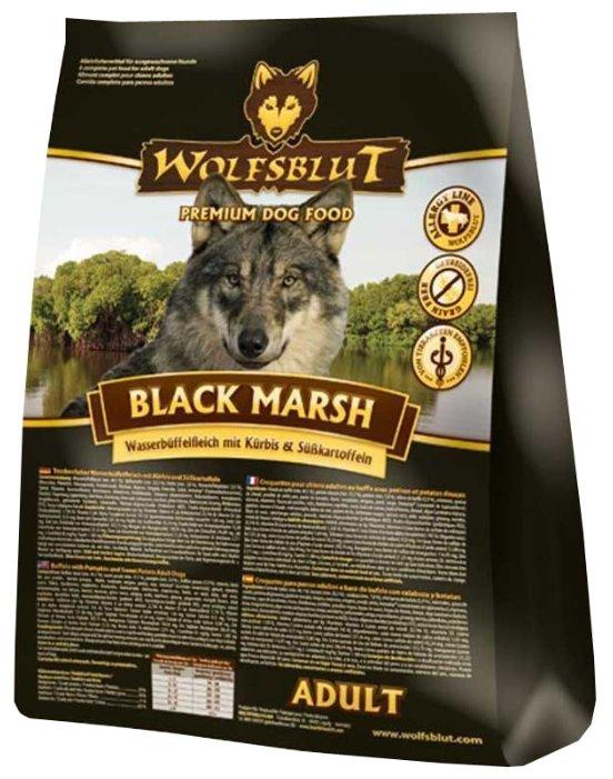 Wolfsblut Корм Black Marsh Adult(Черное болото для взрослых собак) 15 кг, WBM15