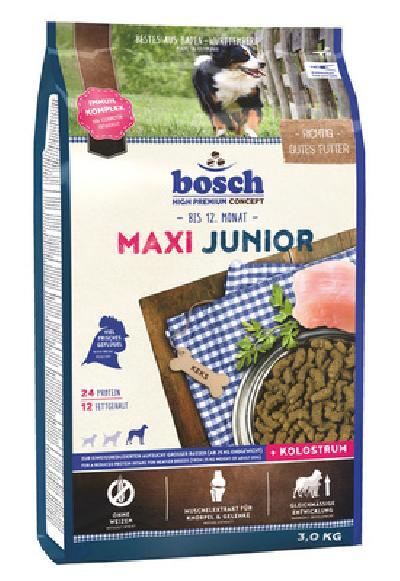 Bosch Maxi Junior сухой корм для щенков 3 кг, шт