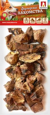 Зоогурман ВИА Лакомство для собак Легкое говяжье темное (4179), 0,05 кг, 40877