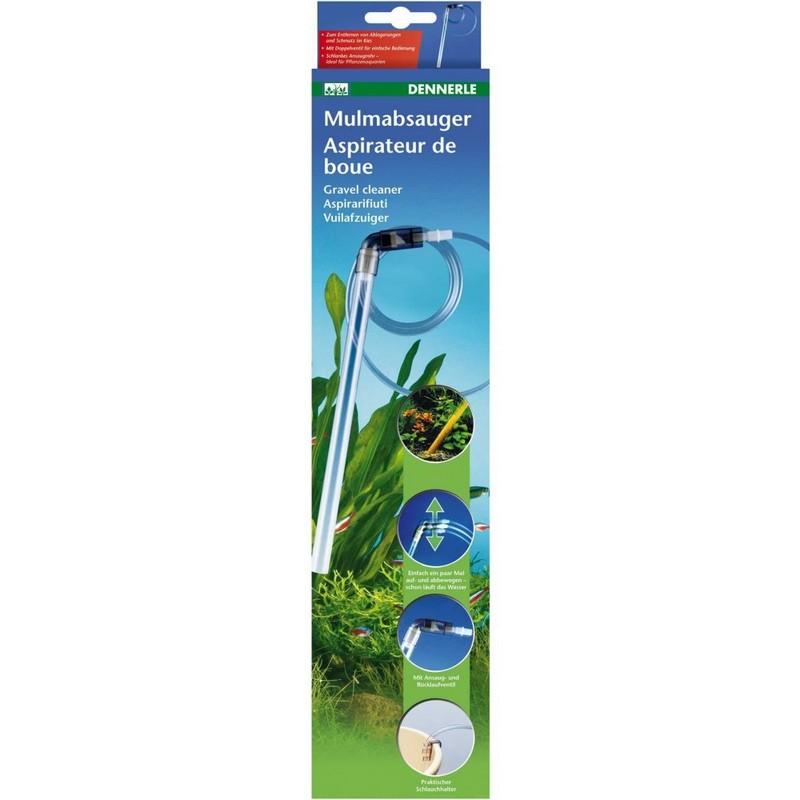 [281.5890] Dennerle Gravel Cleaner - Сифон для очистки дна в аквариумах, 50 см