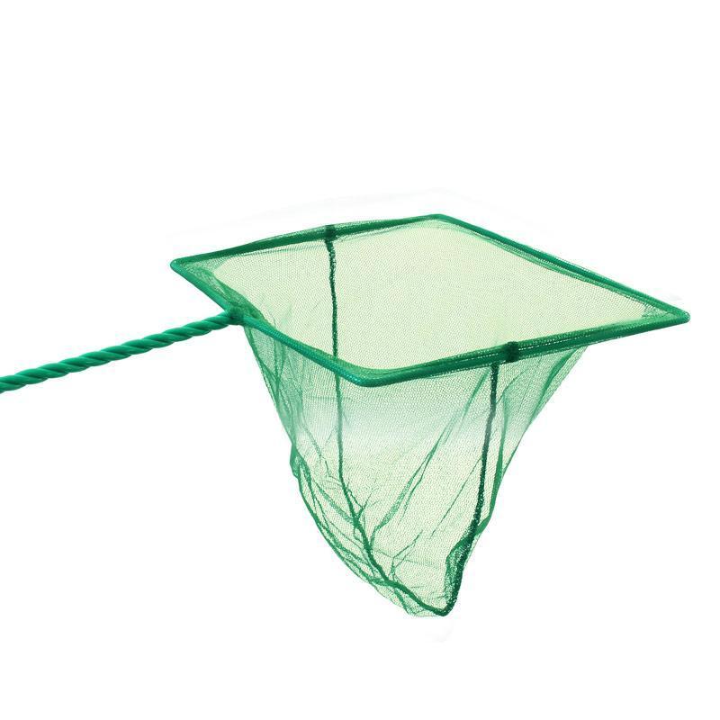 0501CW Сачок квадратный зеленый 3 длина 30см (8х6см)