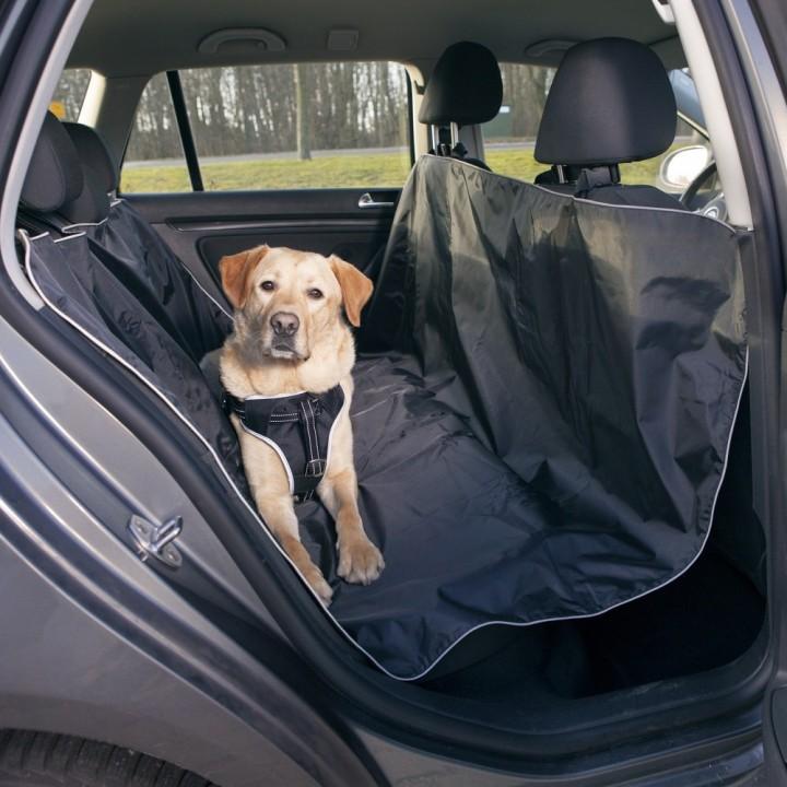 13472 Подстилка для собаки в ам, 1.45х1.60 м, черный