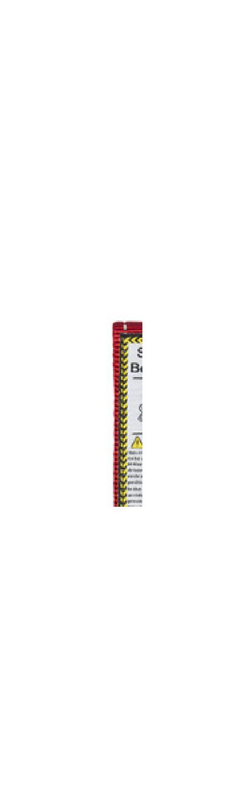 Rogz Ремень для пристегивания в автомобиле, красный, SAFETY BELT CLIP SBC19C, 0,058 кг