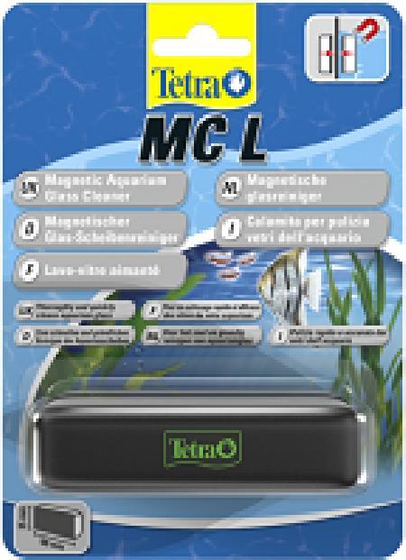 Tetra (оборудование) ВИА Магнитный стеклоочиститель для аквариумов MC Magnet Cleaner L  239333, 0,180 кг, 36344
