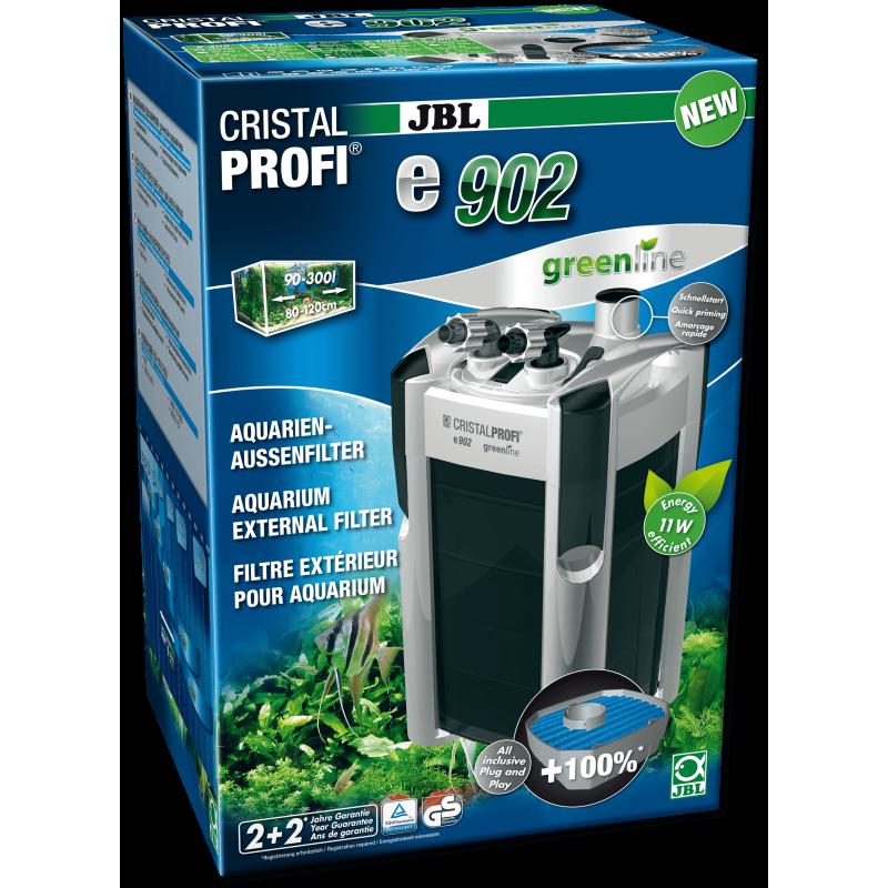 [282.6028200]  JBL CristalProfi e902 greenline - Внешний фильтр для аквариумов 90-300 л (80-120 см)