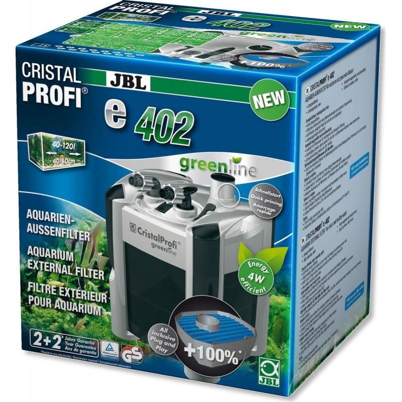 [282.6028000]  JBL CristalProfi e402 greenline - Внешний фильтр для аквариумов 40-120 л (40-80 см)