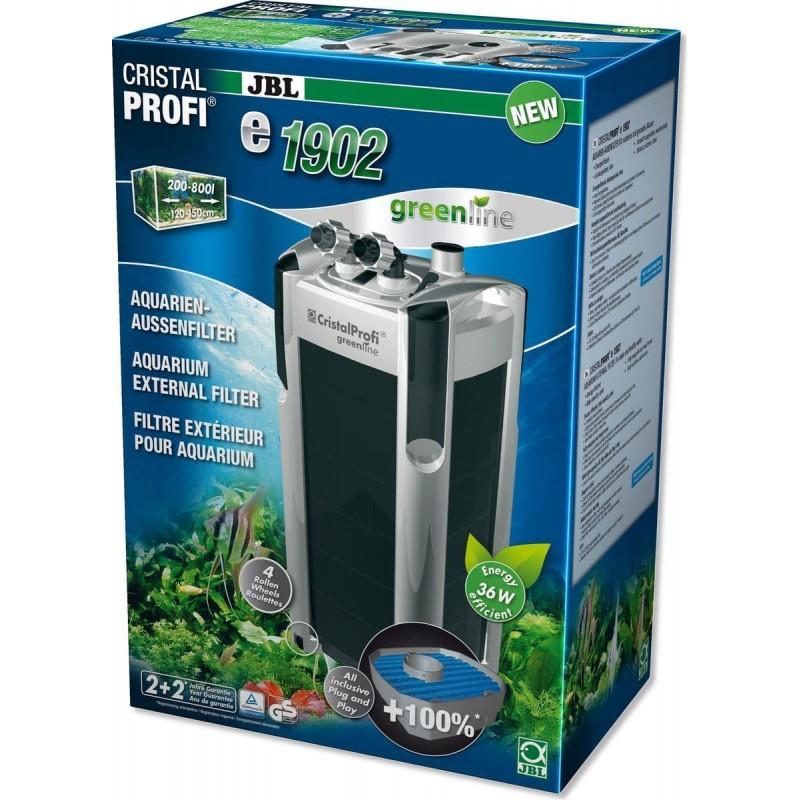 [282.6028400]  JBL CristalProfi e1902 greenline - Внешний фильтр для аквариумов 200-800 л (от 150 см)