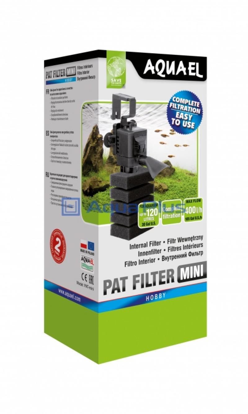 Аренда: Внутренний фильтр PAT-MINI, 400 л/ч (10- 120л), AQUAEL, 107715