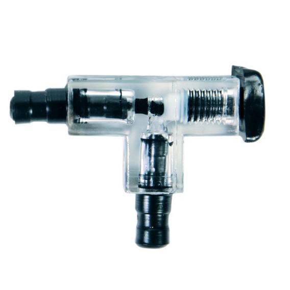 ТРИКСИ 8039 переходникТ-образный с клапаном прозрачный