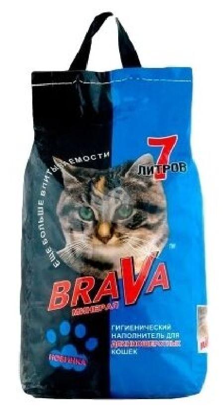 Брава 12441 Минерал Наполнитель ддлинношерстных кошек 7л