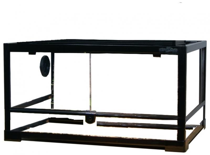 0117RK Террариум REPTIZOO 60х45х32см сборный стеклянный с распашными дверцами
