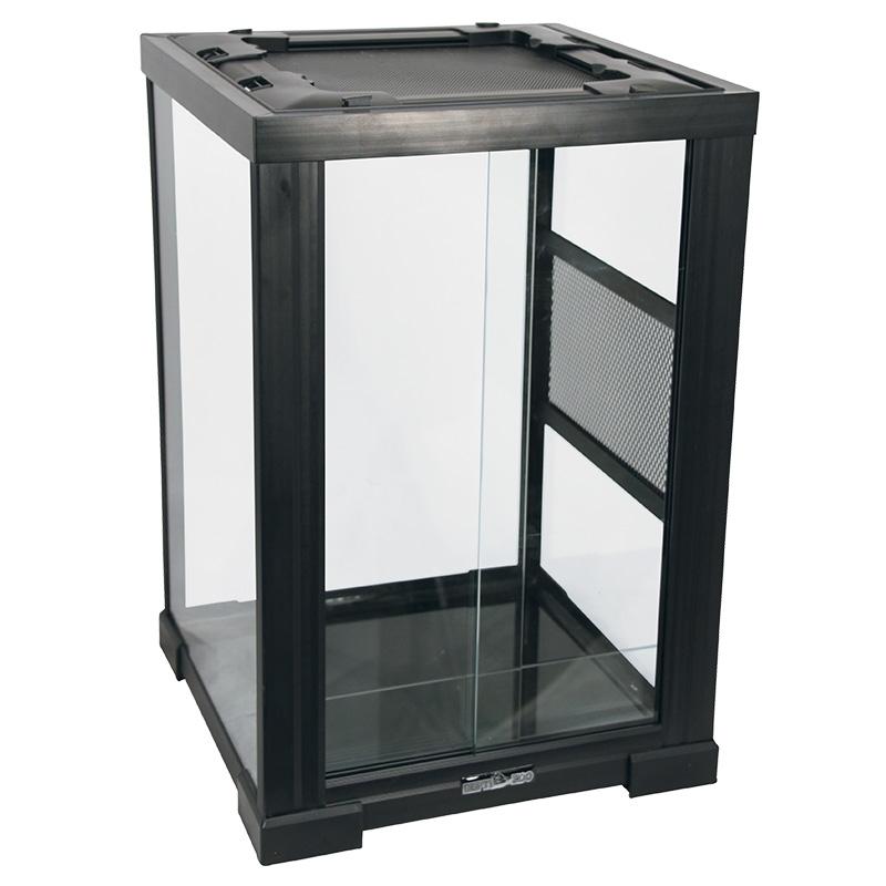 2801RH Террариум REPTIZOO 40х30х35см неразборный стеклянный с  раздвижными дверцами, 83625001