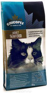 Chicopee корм для взрослых кошек всех пород, с морепродуктами 400 гр