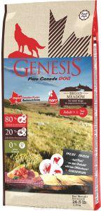 Genesis корм для взрослых собак всех пород, беззерновой, мясо косули и дикого кабана 11,79 кг