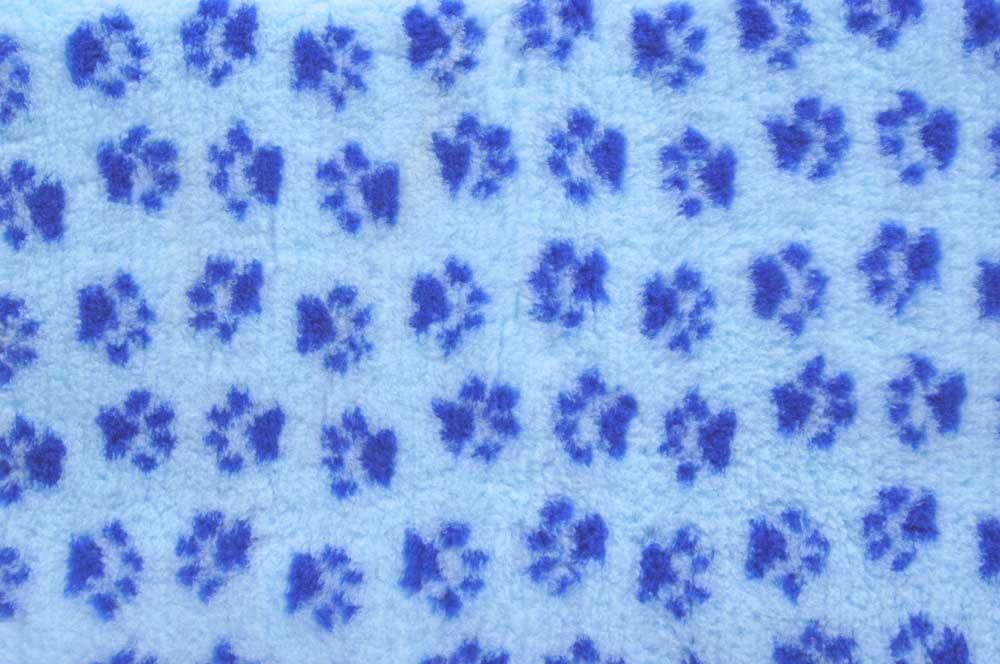 ProFleece коврик меховой 1х1,6 м голубой/синий, PF004
