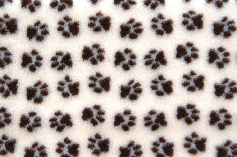 ProFleece коврик меховой 1х1,6 м сливкишоколад