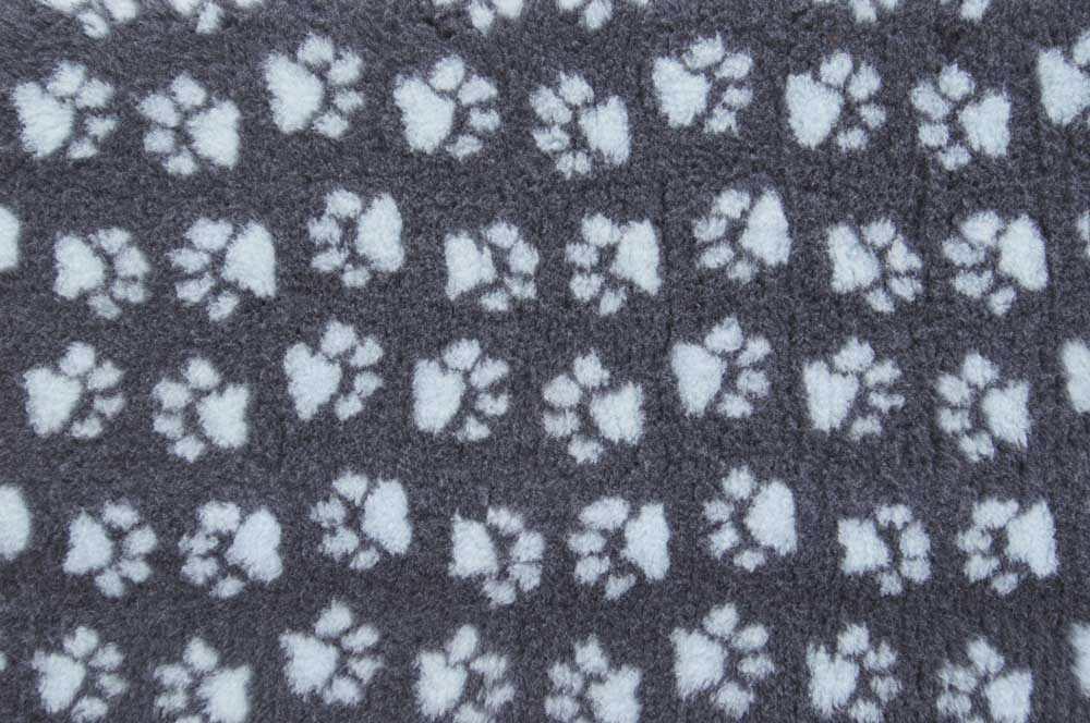ProFleece коврик меховой 1х1,6 м угольныйголубой