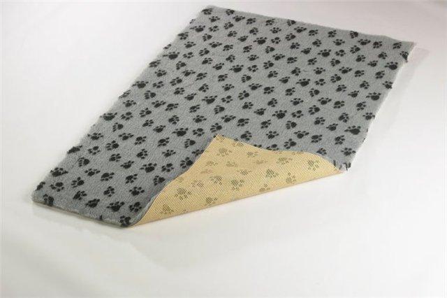 ProFleece коврик меховой 1х1,6 м угольный/желтый, PF010