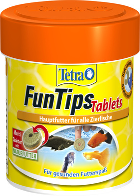 Tetra (корма) ВИА Лакомство для всех видов рыб, в виде приклеивающихся таблеток Tetra FunTips Tablets 111172, 0,030 кг