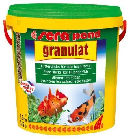 Pond biogranulat 10000мл. плавающие палочки дпрудовых рыб