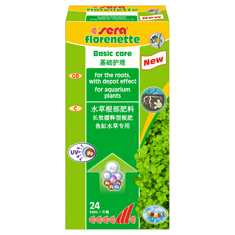 Florenette A 24табл. комплексное удобрение в таблетках. 112
