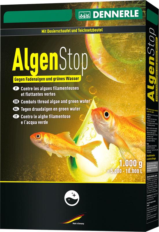 [281.3465]  Dennerle AlgaeStop 1000 - Ср-во д/борьбы с любыми водорослями в пруду, 1000 г, 281.3465